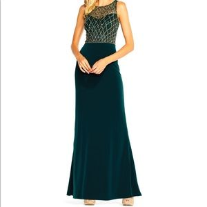 Adrianna Papell Jersey Mermaid Gown